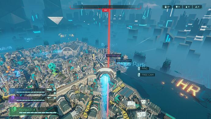 Hyper Scape is a battle royale with a few smart ideas of its own
