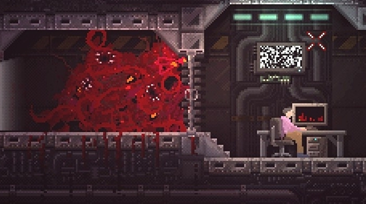 Carrion Review An Unforgettable Monster Chews Its Way Out Of A