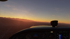 If you're a sim veteran the granular detail might not impress you so much, but - get this - you can dim the lights in the cockpit.