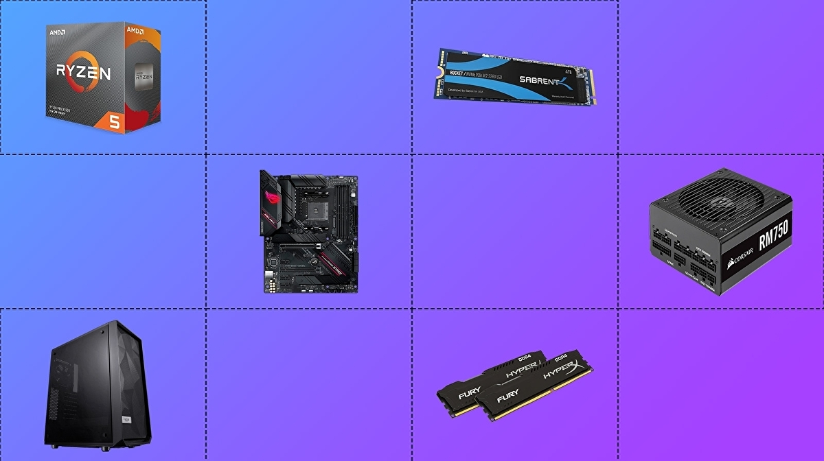 Our recommended RTX 3070/3080 PC build: CPU, RAM and motherboard picks