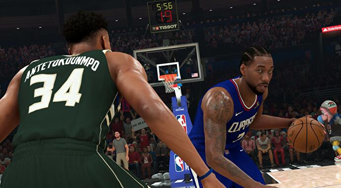 NBA 2K21 Clippers