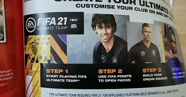 EA under fire for promoting FIFA loot boxes in toy catalogue