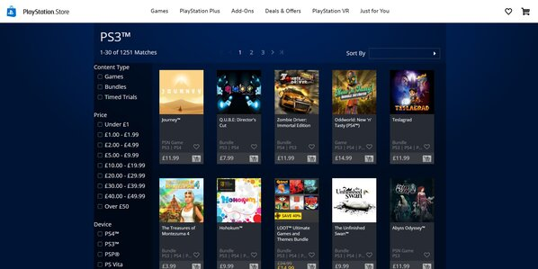 Playstation Store On Web And Mobile To Stop Selling Ps3 Psp And Vita Games This Month Eurogamer Net