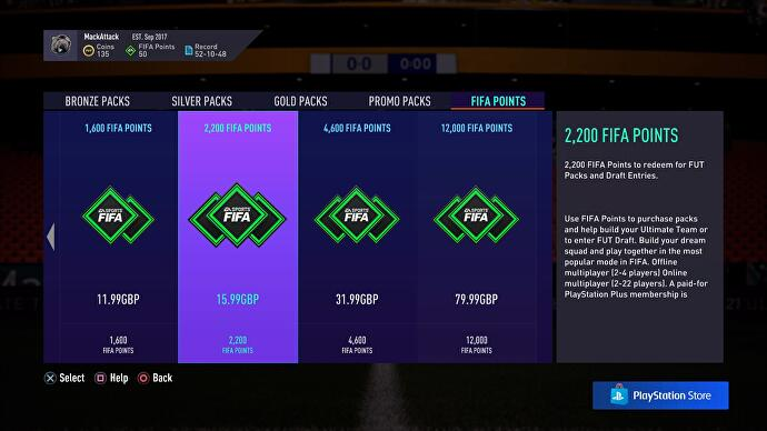 FIFA 21 will soon let you track and set limits on how many FIFA Points you buy from the in-game store