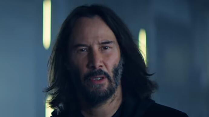 Keanu Reeves is Cyberpunk 2077 canon, apparently