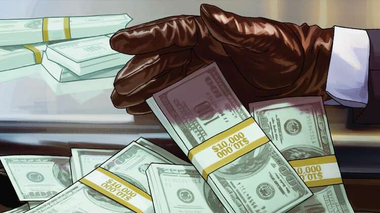 Rockstar Wants You To Steal 100 Billion In Gta Online This Week Virtually Of Course Eurogamer Net