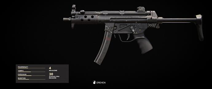 Call of Duty Cold War MP5