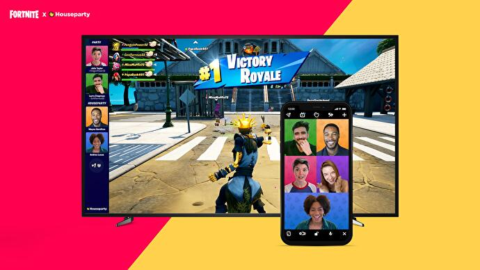 Fortnite adds in-game video chat on PC, PlayStation