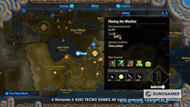 Hyrule Warriors Terrako Guide How To Unlock Terrako And Where To Find Terrako Components In Age Of Calamity Explained Eurogamer Net