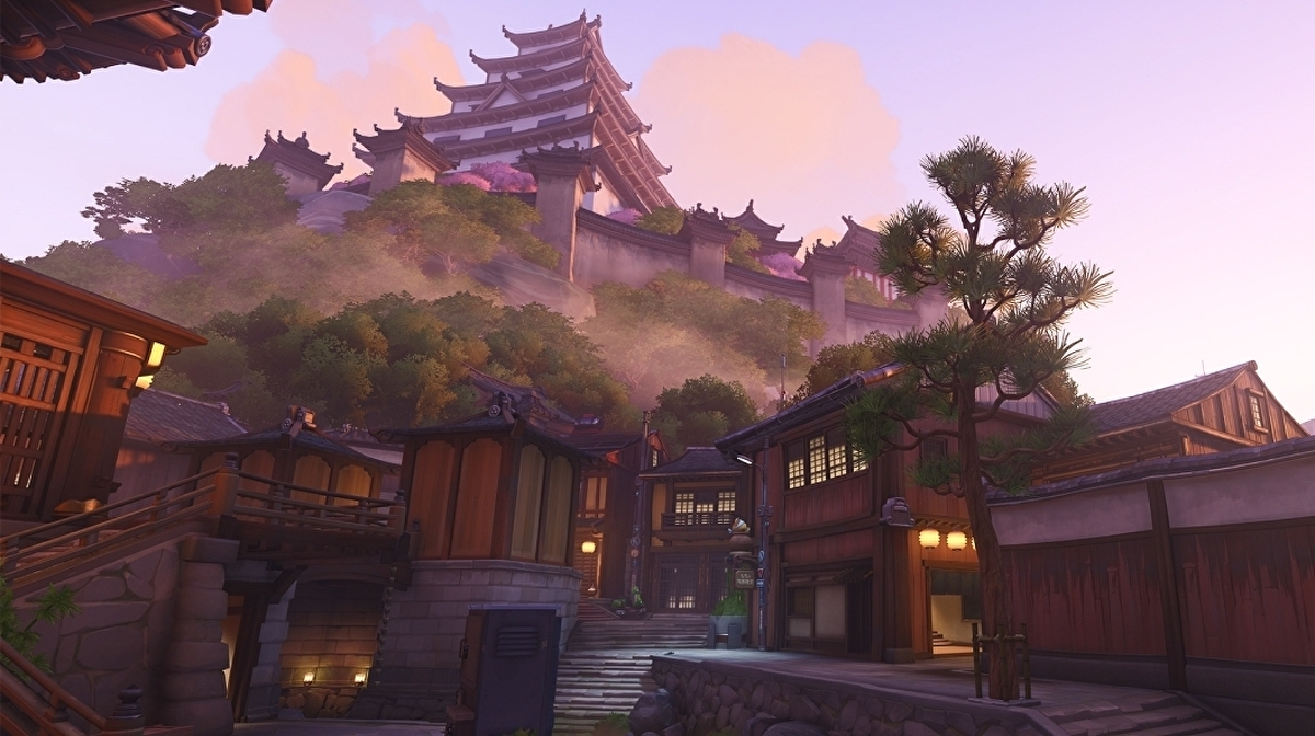 Overwatch's new Tokyo-themed Kanezaka map is now live, complete with cat café