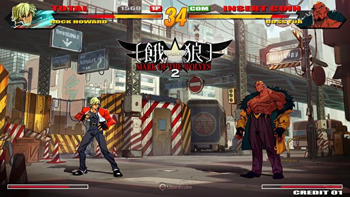 Garou: Mark of the Wolves 2 imagined by the Streets of Rage 4 studio