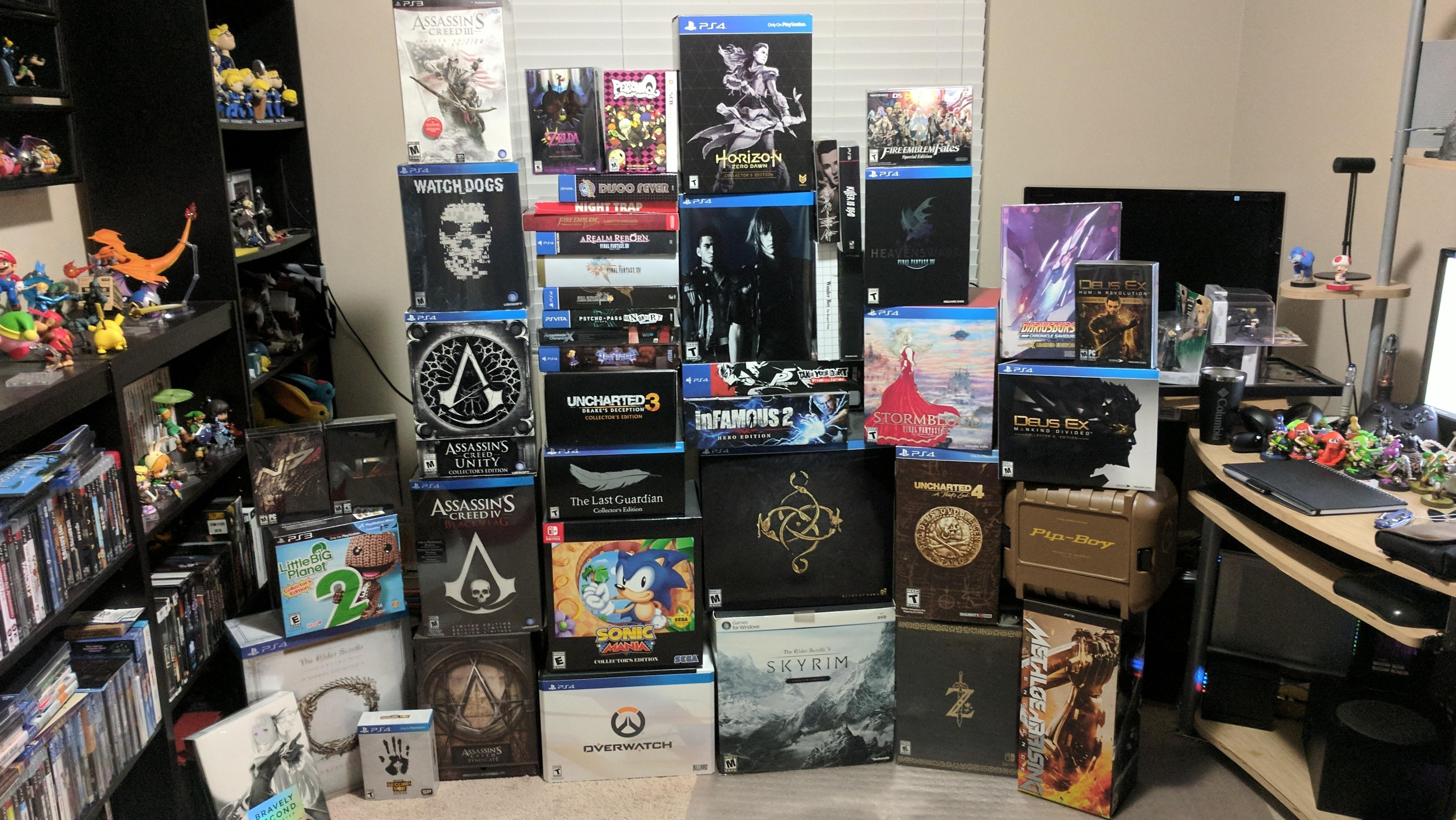 Collector's Editions are the last bastion of the physical market