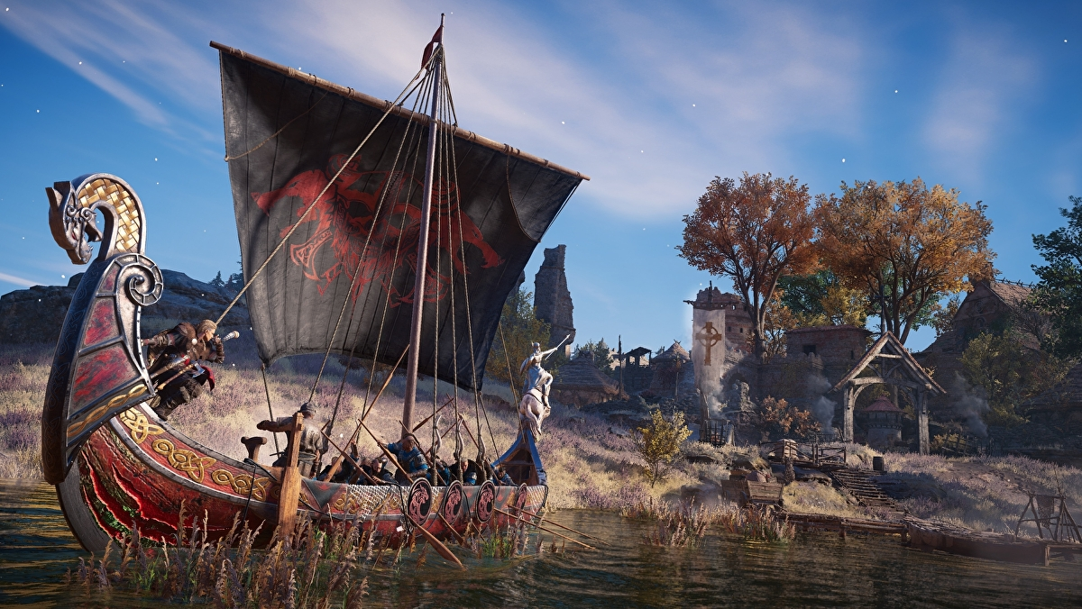 Assassin's Creed Valhalla gets new River Raids mode in tomorrow's title update - Eurogamer.net