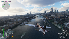 Yes, I did attempt to fly through Tower Bridge. No, I did not make it.