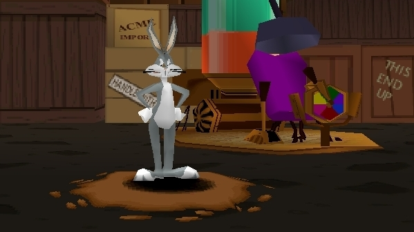 Bugs Bunny Lost in Time and the gaming that no longer exists