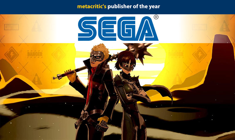 Sega is Metacritic's publisher of the year