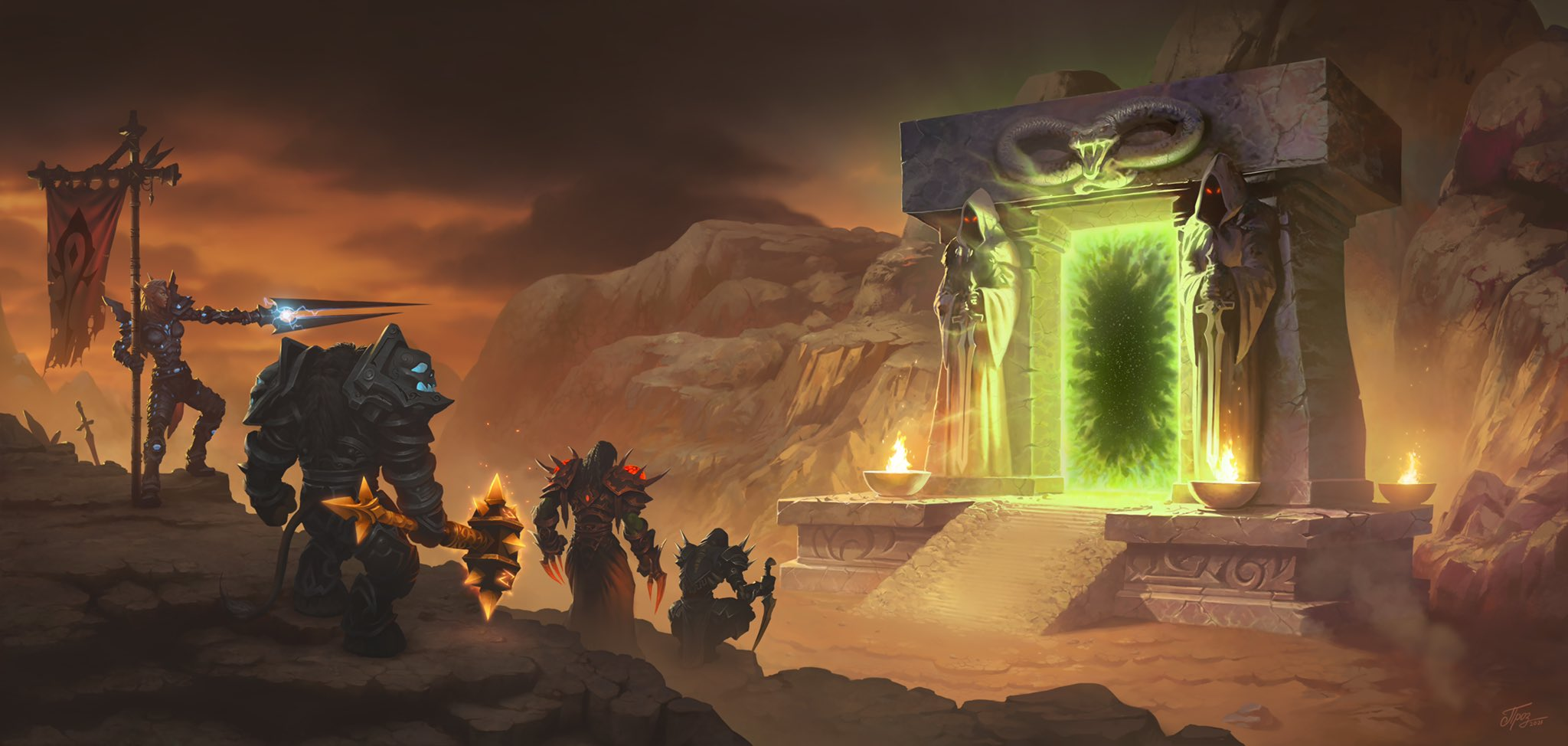 WoW: The Burning Crusade Classic and the persistence of memory