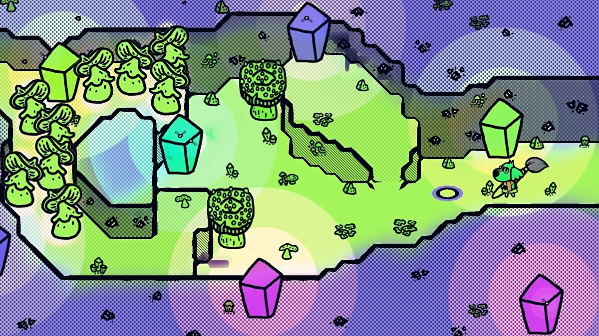 Chicory: A Colorful Tale makes you engage with its world in a completely transformative way
