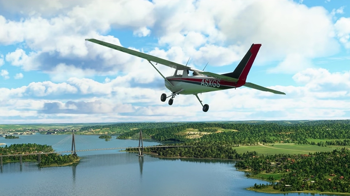 Flight Simulator gives Denmark, Finland, Iceland, Norway, and Sweden makeovers