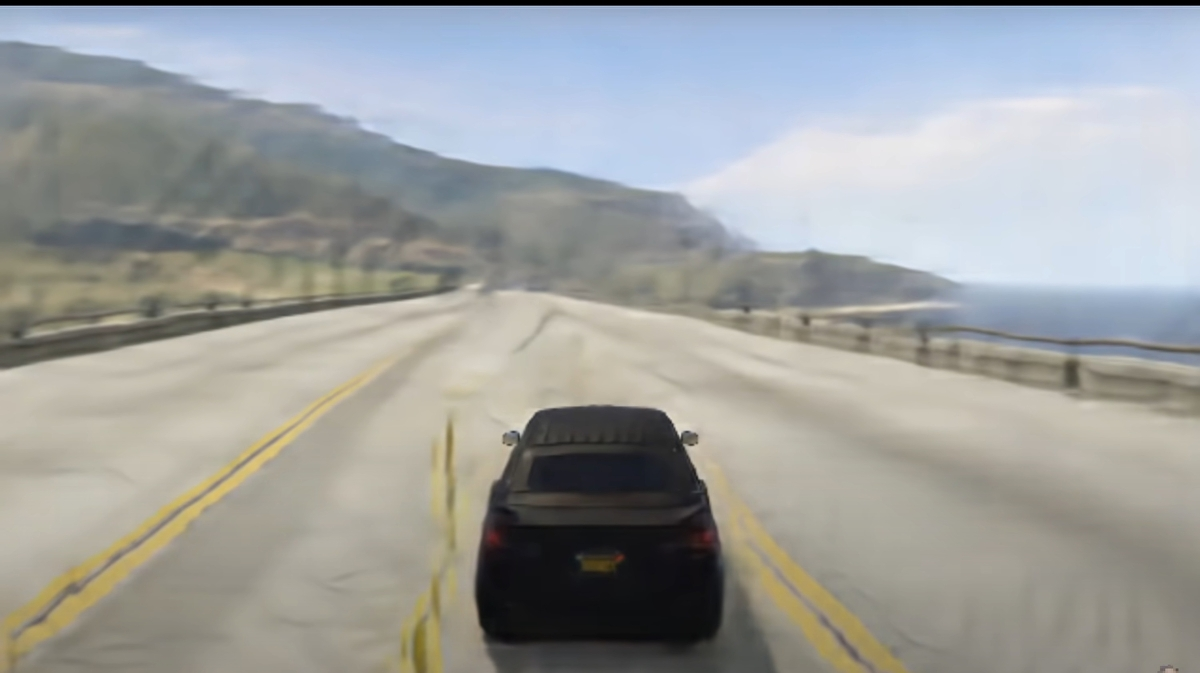 GAN Theft Auto is a snippet of GTA 5 made by AI