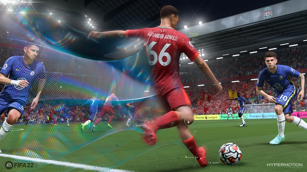 FIFA 22 on next-gen performs good on the pitch