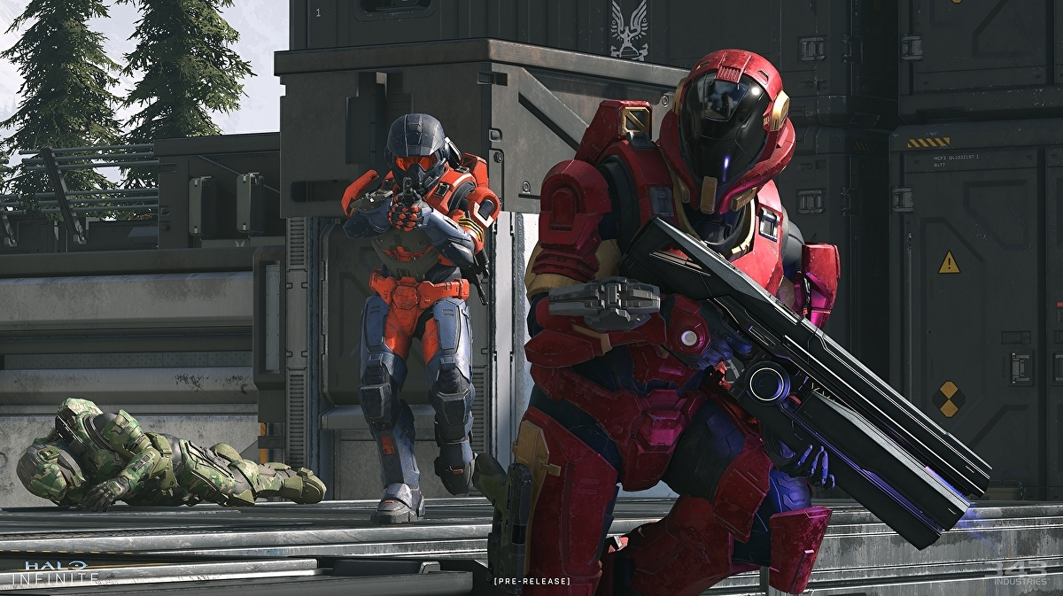 343 details Halo Infinite's first bot-focused technical preview