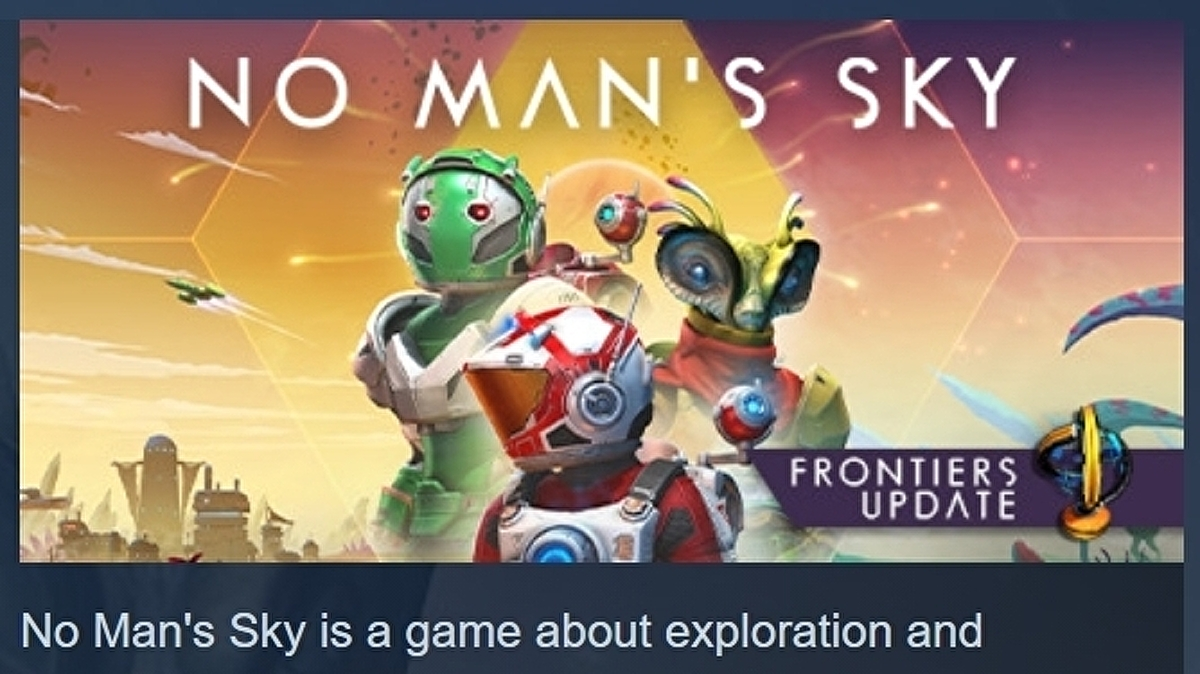 """After five years, No Man's Sky has finally hit """"mostly positive"""" reviews on Steam"""