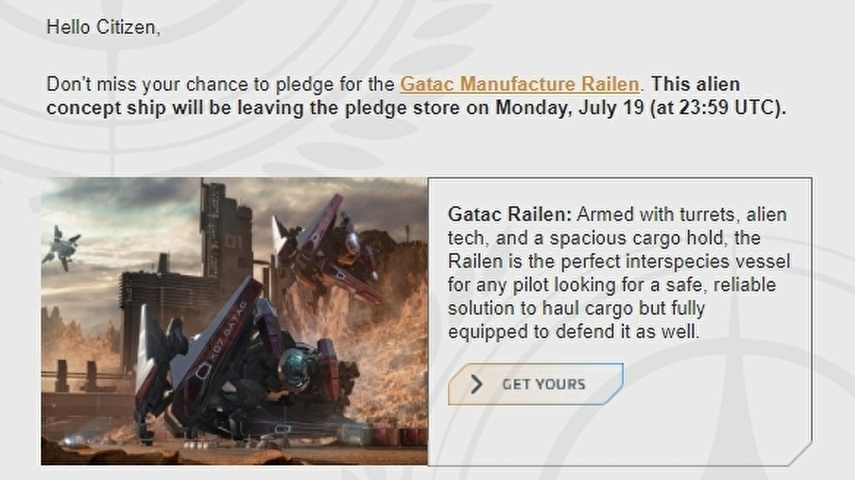 """Advertising Standards tells Star Citizen dev to make it clear that for sale """"concept ships"""" don't exist in-game yet"""