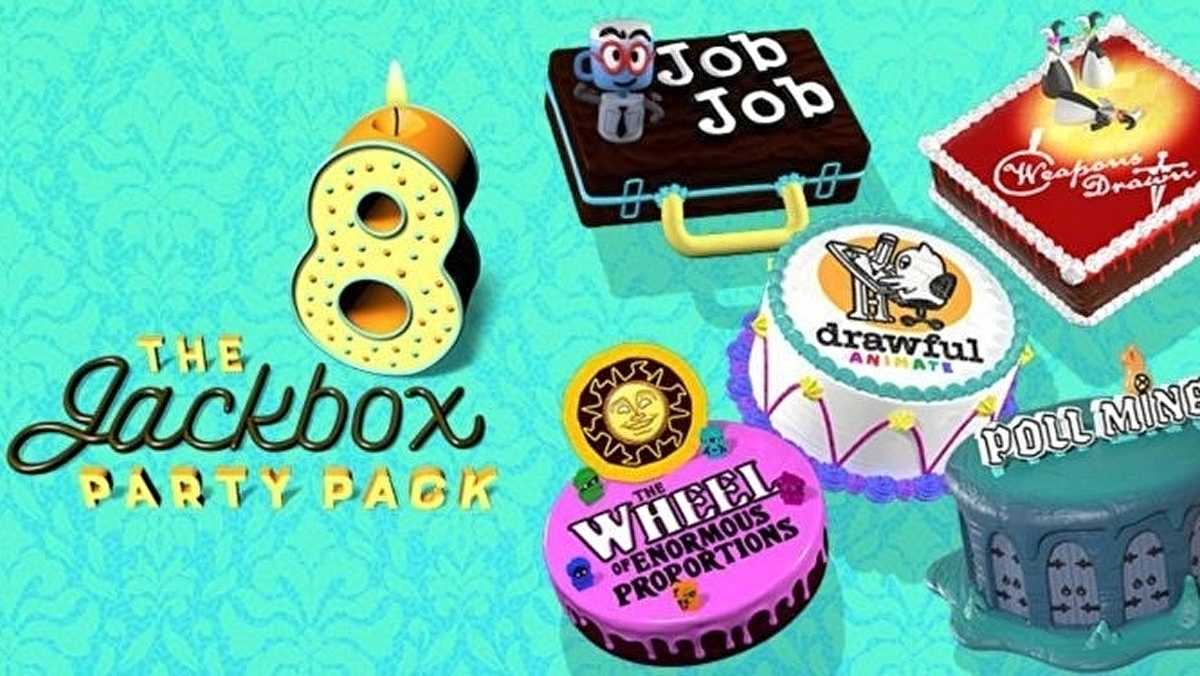 The Jackbox Party Pack 8 is out next month