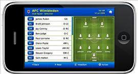 Football Manager iPhone / iPod Touch 2010