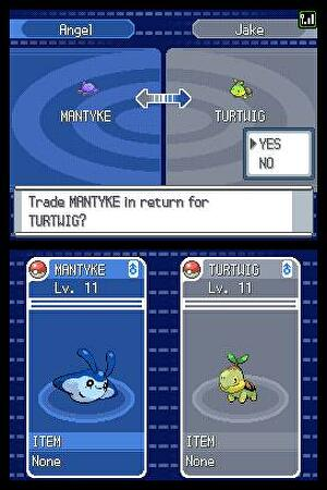 Global trading system pokemon pearl