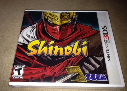 Shinobi: Latest 3DS Game To Feature Special Packaging   Modojo