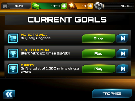 earn bonuses from completing ingame achievements like
