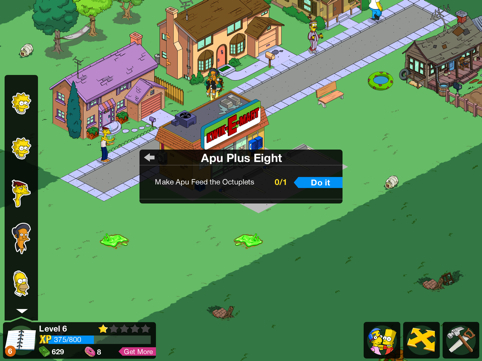 Simpsons Tapped Out Dog Track Cheats
