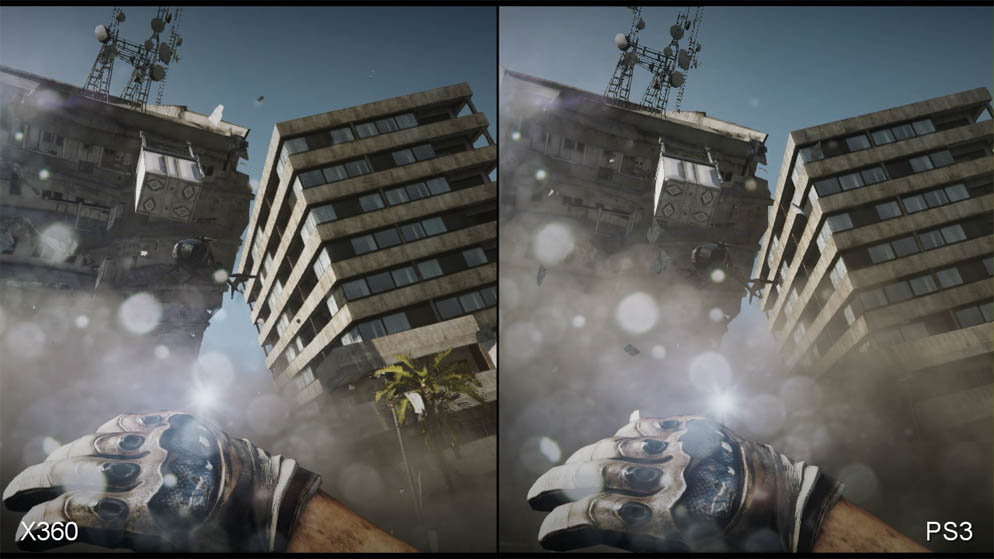 Battlefield 3: Xbox 360 vs. PS3 Face-Off Video ...