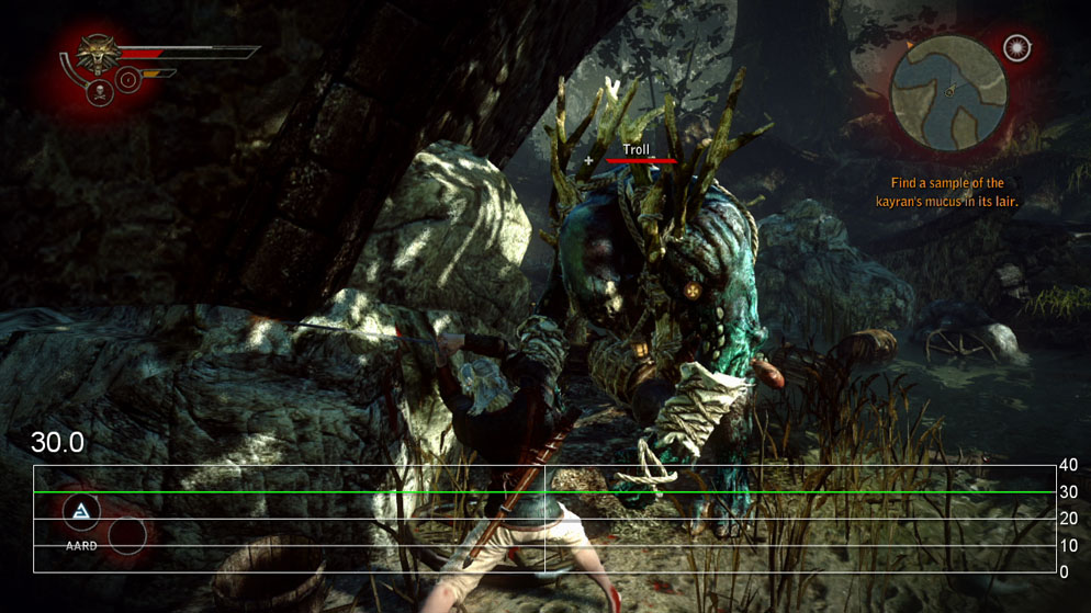 the witcher 2 xbox 360 gameplay performance video � the