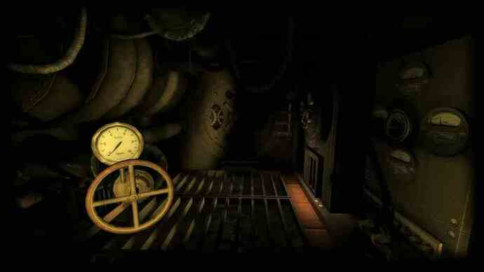 Amnesia: A Machine for Pigs trailer makes noises in thedark