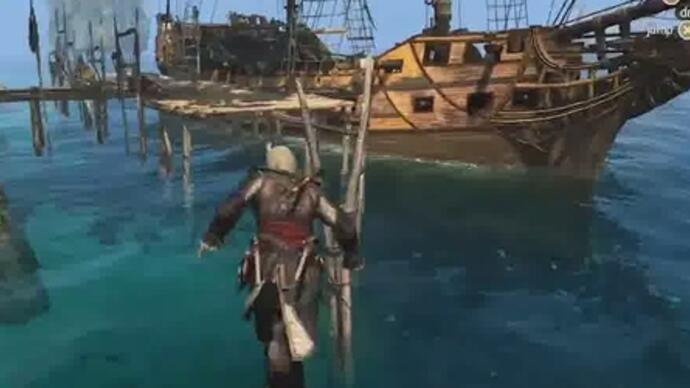 Assassin's Creed 4 -Gameplay-Video