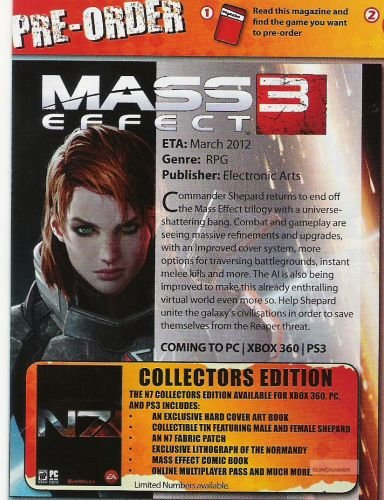 Mass Effect 3 Online Multiplayer Pass