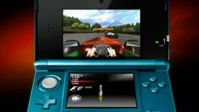 F1 2011 Nintendo 3DS release date announced