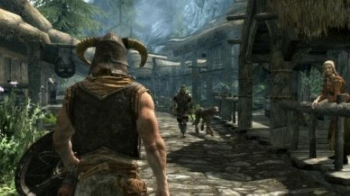 Elder Scrolls 5: Skyrim patch 1.1 at launch