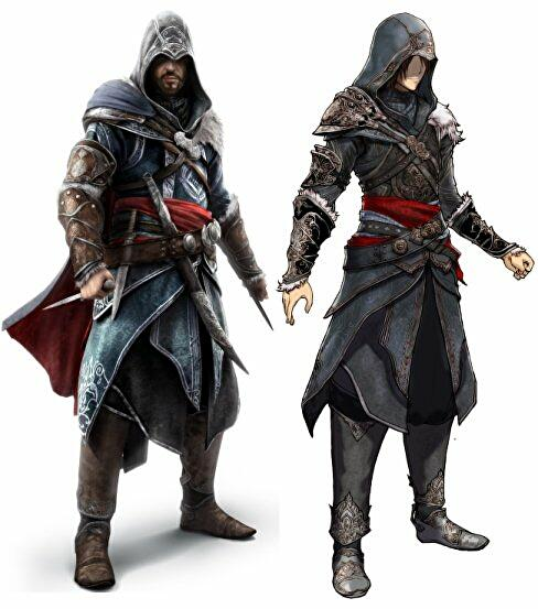 Assassin S Creed Ezio Costume In Final Fantasy 13 2 Eurogamer Net