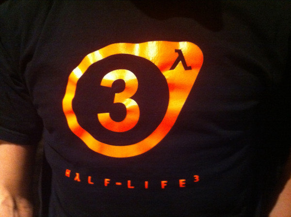 'Valve employee spotted in Half Life 3 shirt' Screenshot 1