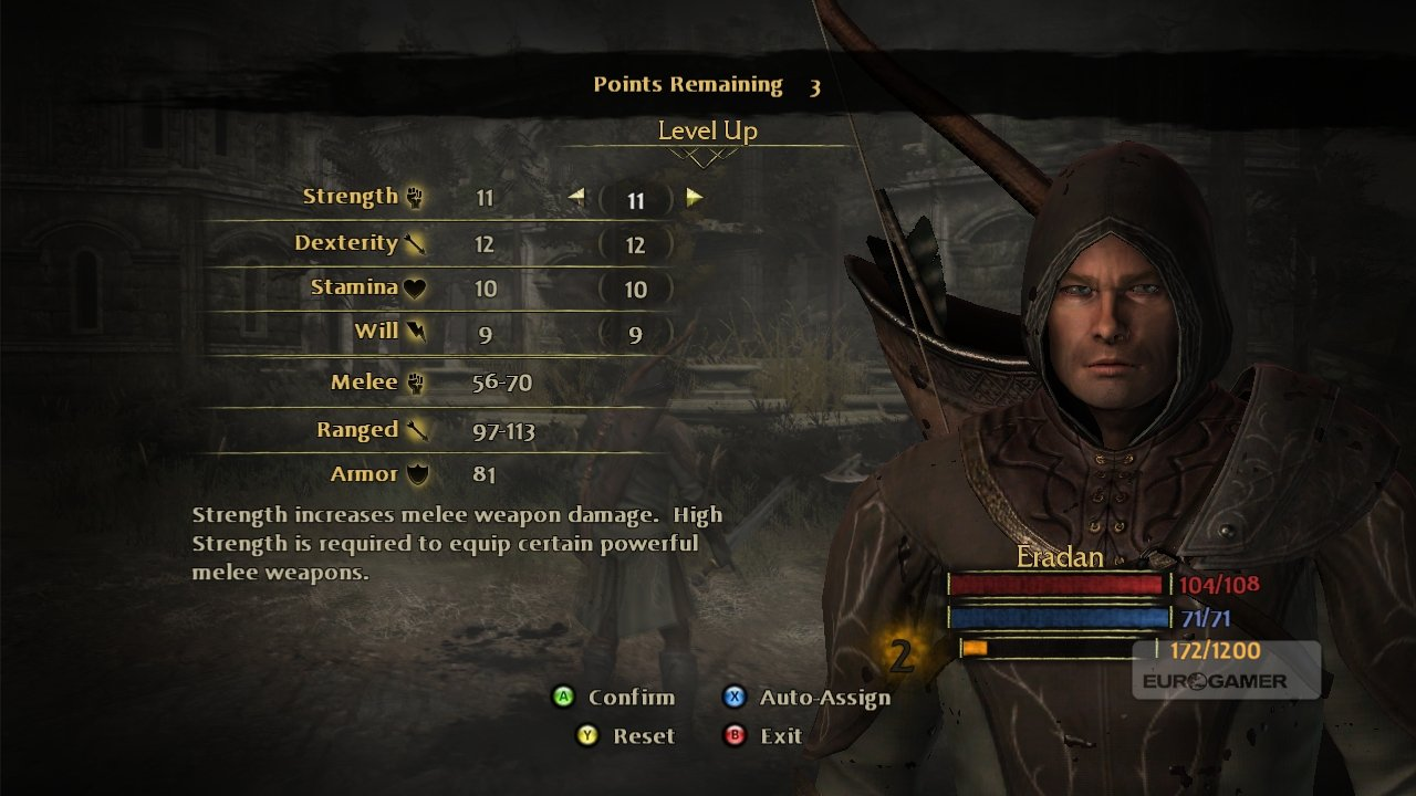 Lord Of The Rings War In The North Character Editor