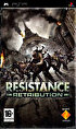Packshot for Resistance Retribution on PSP