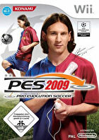 Packshot for Pro Evolution Soccer 2009 on Wii