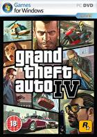 Packshot for Grand Theft Auto IV on PC