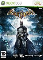 Packshot for Batman: Arkham Asylum on Xbox 360