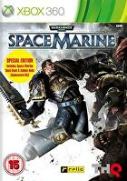 Packshot for Warhammer 40,000: Space Marine on Xbox 360