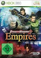Packshot for Dynasty Warriors 6 Empires on Xbox 360